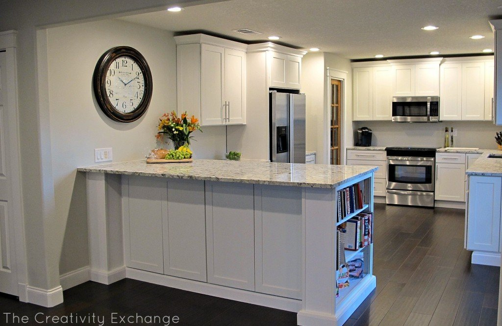 astounding kitchen lighting before after | Cousin Frank's Amazing Kitchen Remodel {Before & After}...