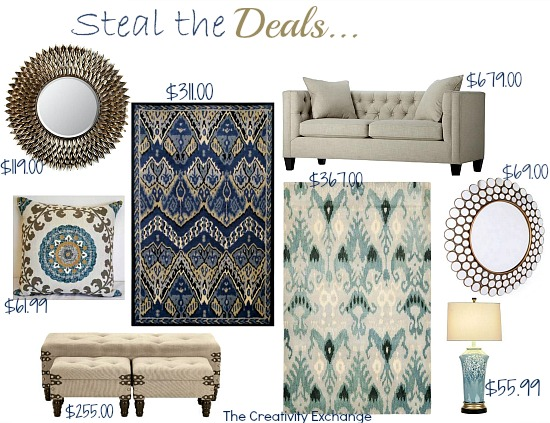 Steal The Deals Favorite Home Decor Bargains Creativity Exchange