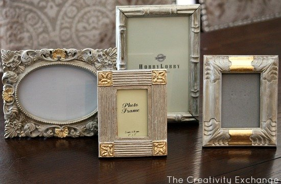 Tutorial For Transforming Old Frames U0026 Furniture With Spray Paint And Gold  Leaf {The Creativity