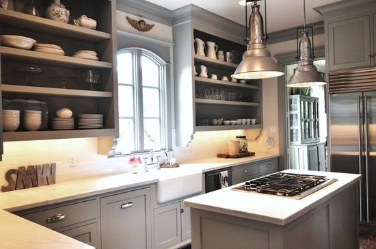 Favorite kitchen cabinet paint colors House beautiful kitchen of the year 2013