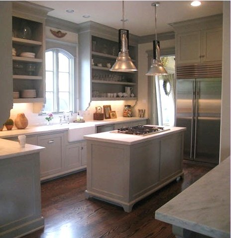 Castle Gray Kitchen Cabinets