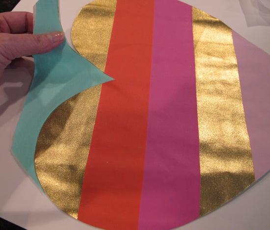 make a pillow applique from a t-shirt