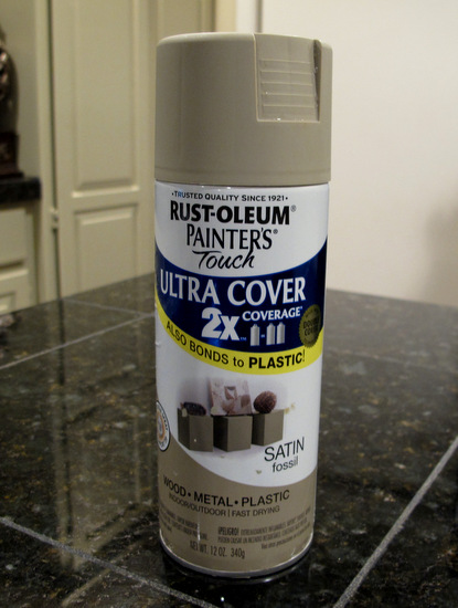 Rust-oleum Sand Fossil gorgeous taupe color