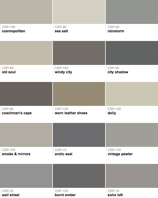 Is There A Warm Gray Paint Color