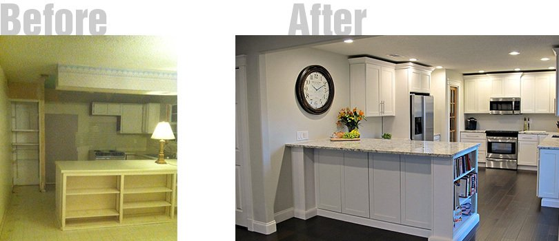 cousin franks amazing kitchen remodel before after 1727