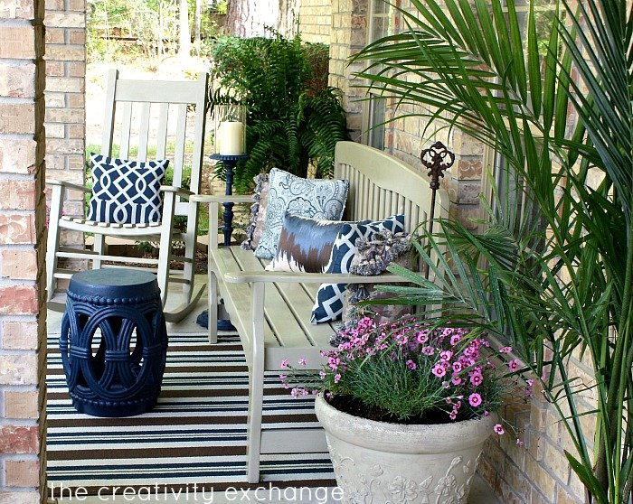 Front porch revamp {The Creativity Exchange}