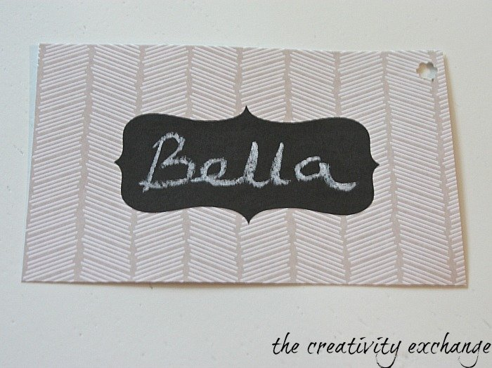 free chalkboard note cards and tags {The Creativity Exchange}