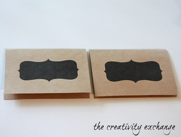 free printable chalkboard note cards and tags