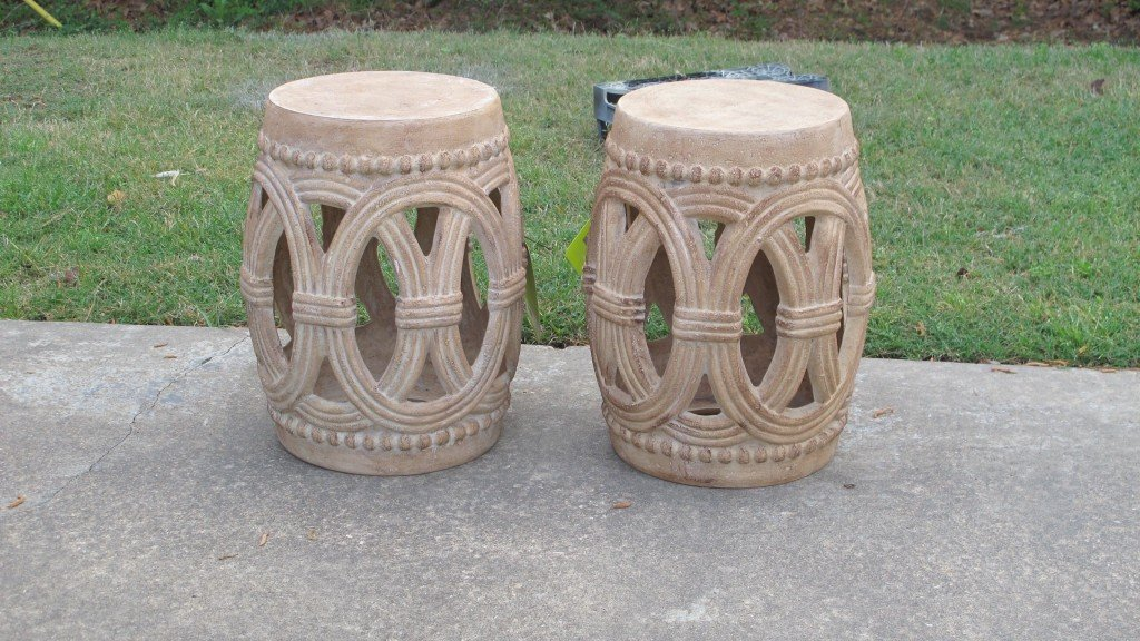 garden table/stools from Home Depot