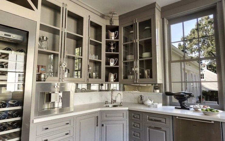 Gorgeous Gray Cabinet Paint Colors