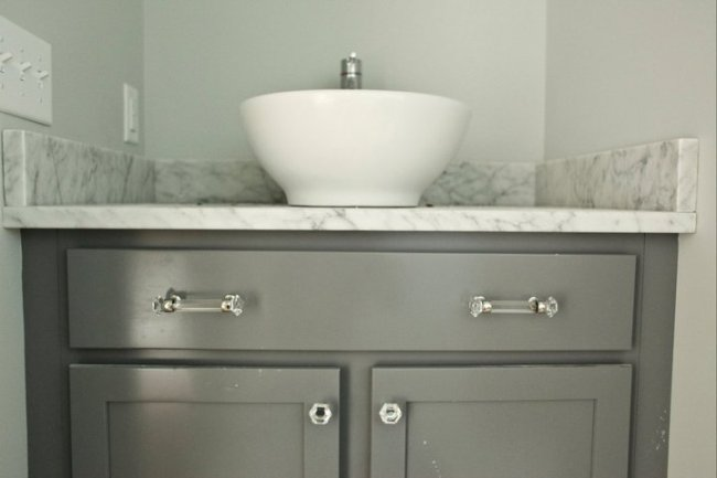 Painting Bathroom Cabinets Gray gorgeous gray cabinet paint colors