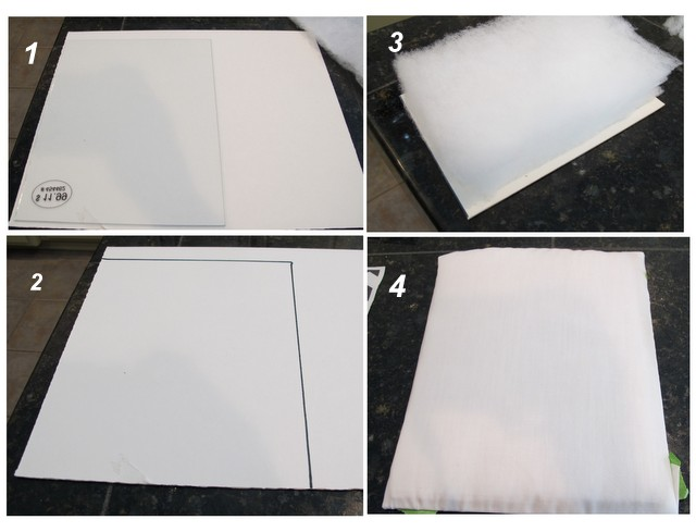 DIY framed pin cushions