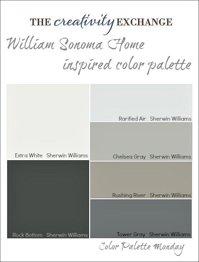 Incorporate Subtle Pops of Color into a Neutral Home {Color Palette Monday #6}