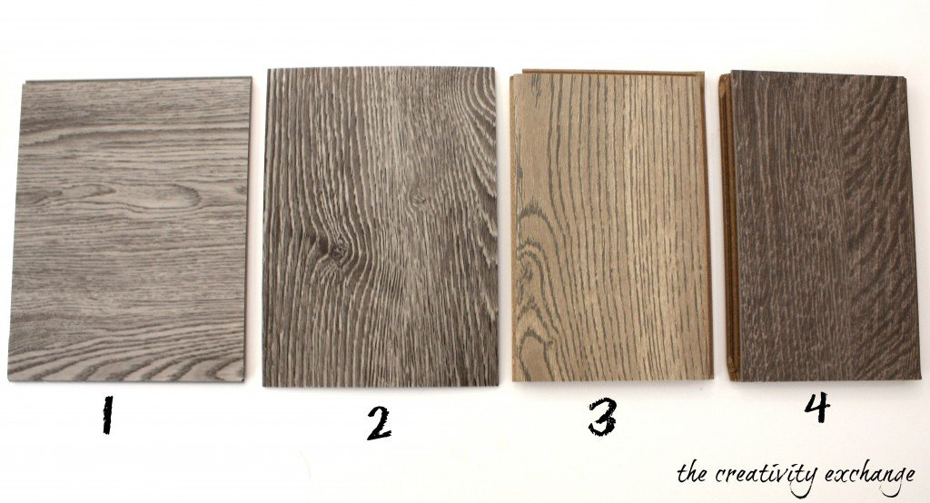 Would you believe that two of these choices are vinyl? Which one do you like the best? {The Creativity Exchange}