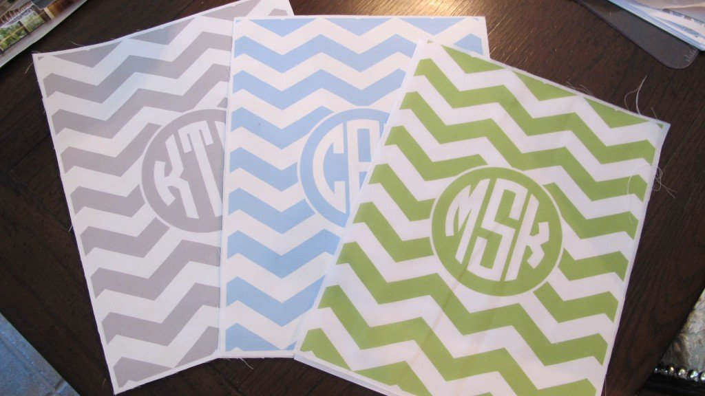 How to print free monogram printables on fabric {The Creativity Exchange}