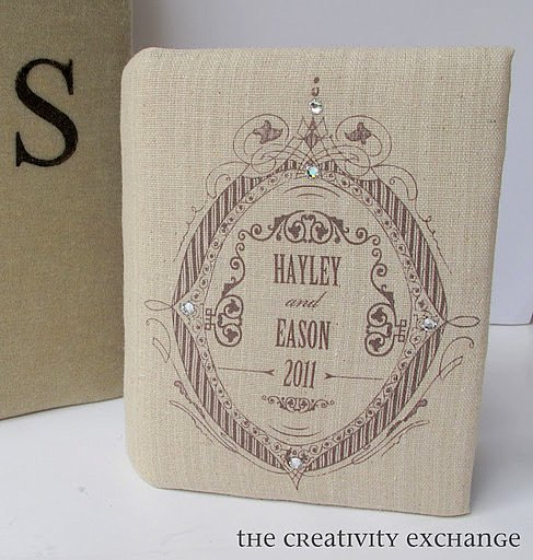 Tutorial for how to print on fabric to create personalized gifts {The Creativity Exchange}