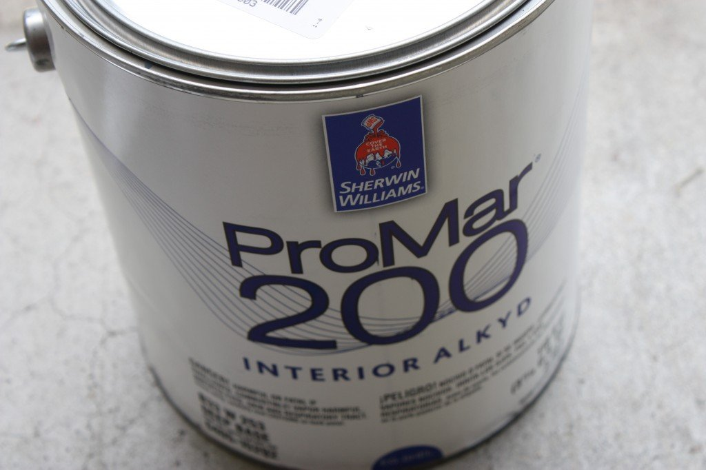 Sherwin Williams Pro Mar 200 Oil Based Paint for a flawless durable finish {The Creativity Exchange}