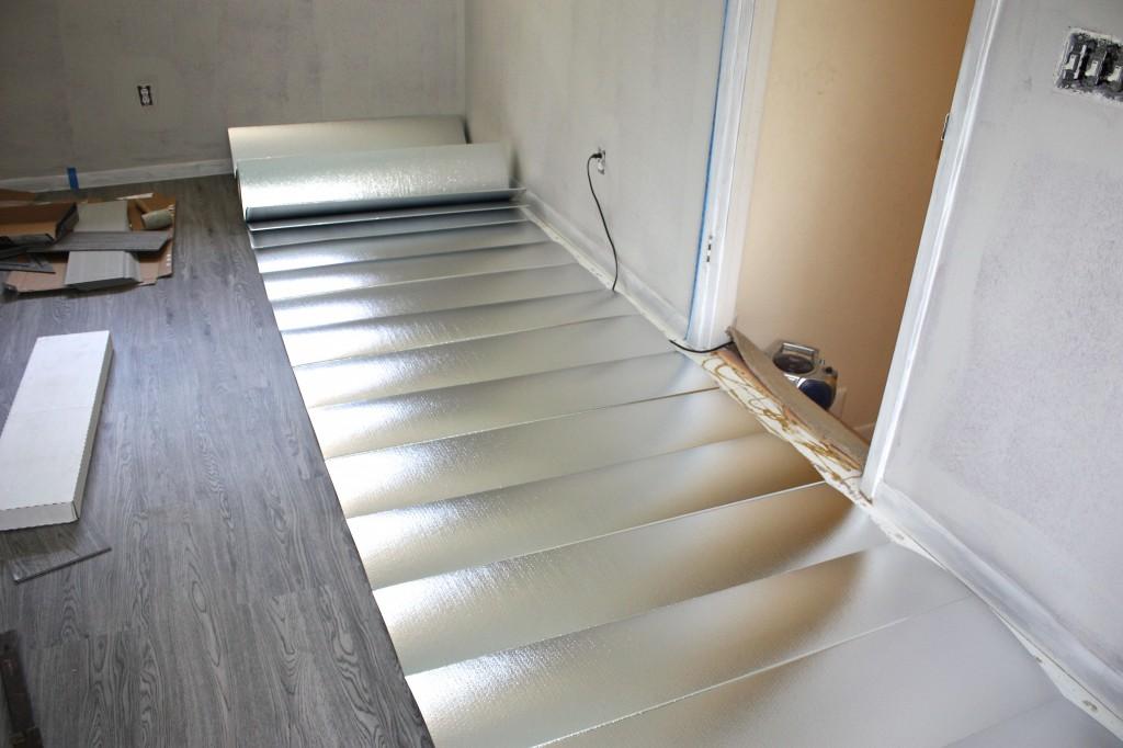 FloorMat Underlayment from BuildDirect {The Creativity Exchange}