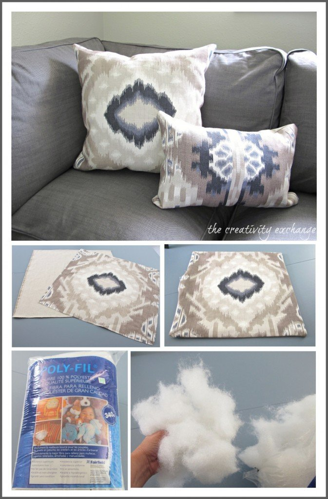 Shortcuts for making perfect pillows {Sew or No Sew} The Creativity Exchange