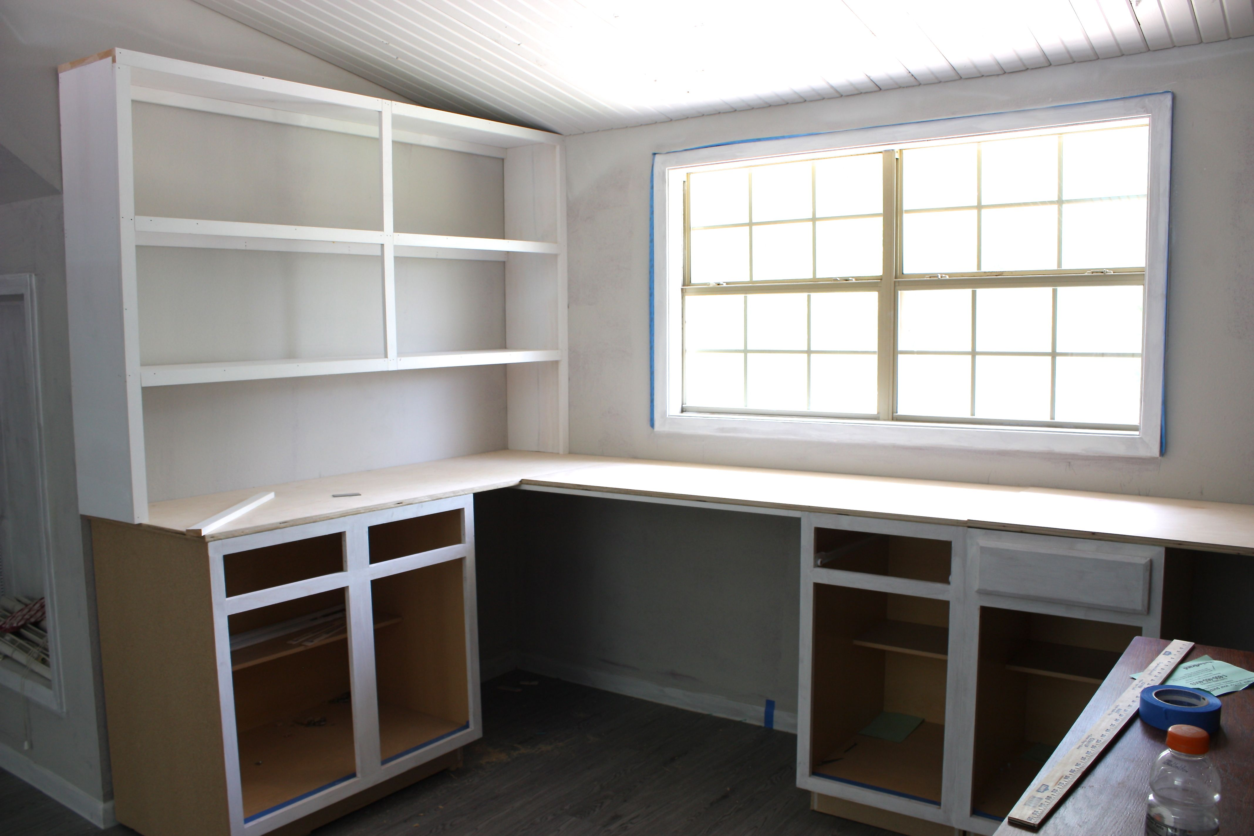 Office craft room update for Pictures of craft rooms