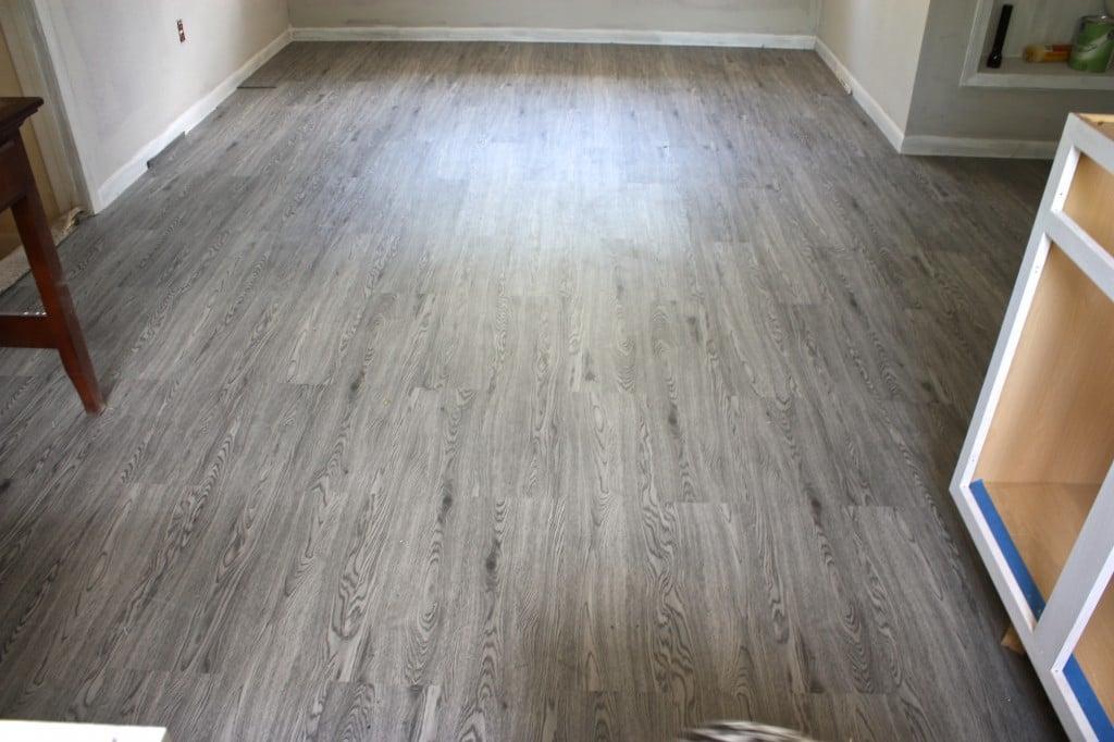 Vesdura Vinyl Plank Flooring (Century Oak) from BuildDirect {The Creativity Exchange}