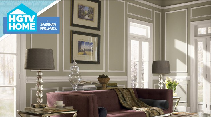 HGTV Paint Colors by Sherwin Williams-Livable Luxe
