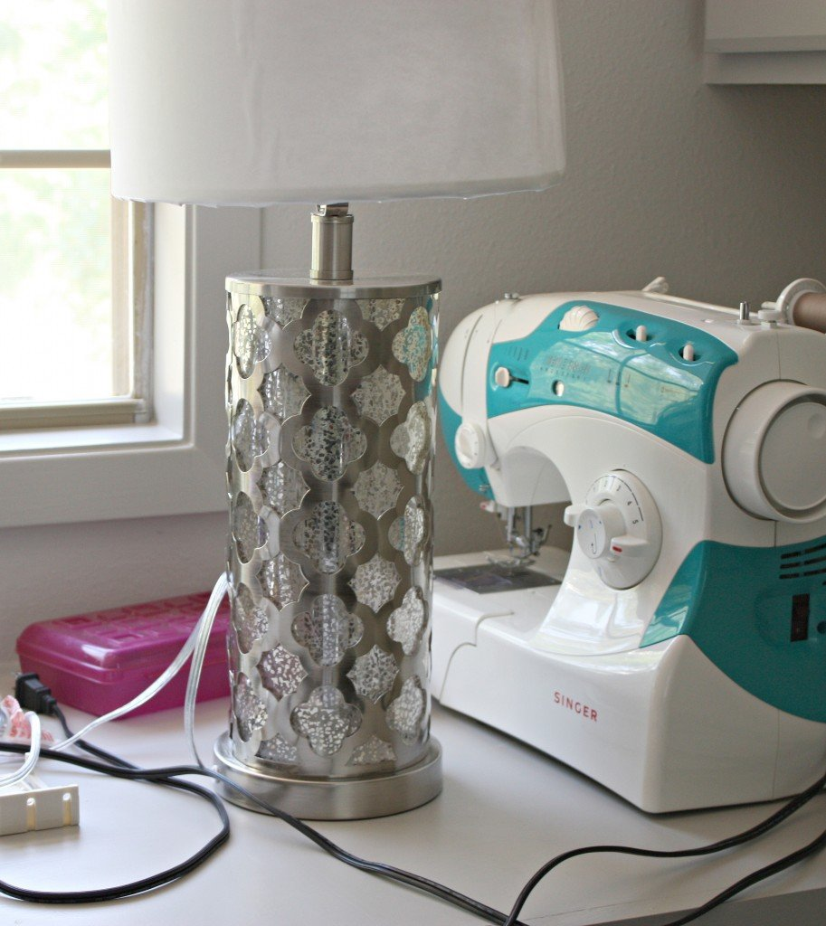 Quatrefoil lamp from Marshall's {The Creativity Exchange}