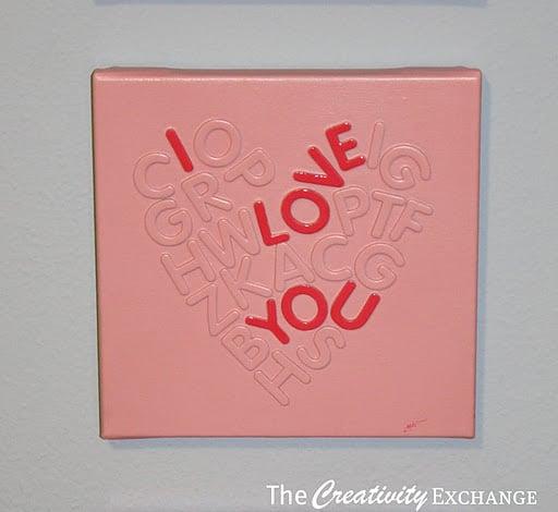 Foam Letter Sticker Craft Projects For Kids