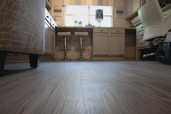 Vesdura Vinyl Plank Floors in Century Oak (The Creativity Exchange)