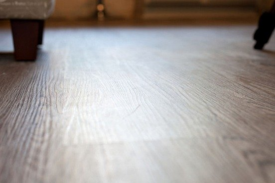 Vesdura vinyl plank floors in Century Oak from Build Direct {The Creativity Exchange}