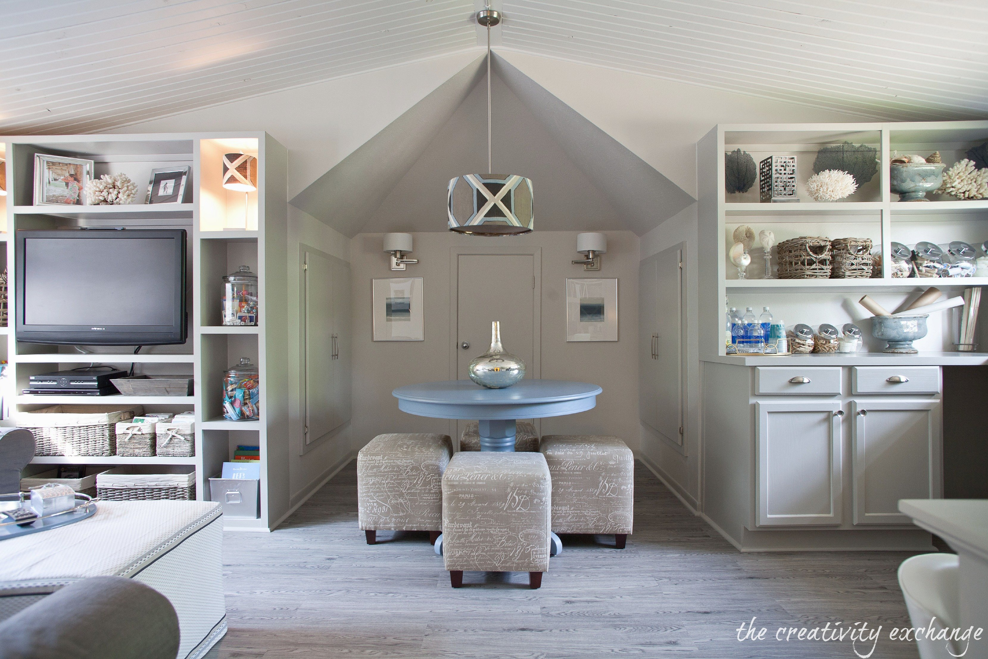 Office Craft Family Room Reveal