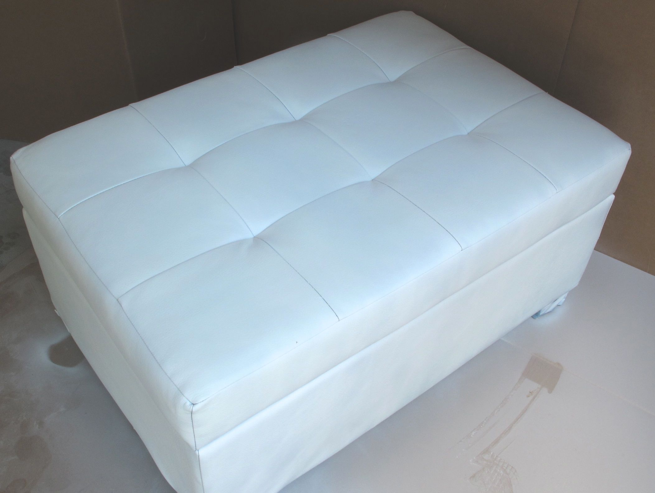 how to make a slipcover for an ottoman