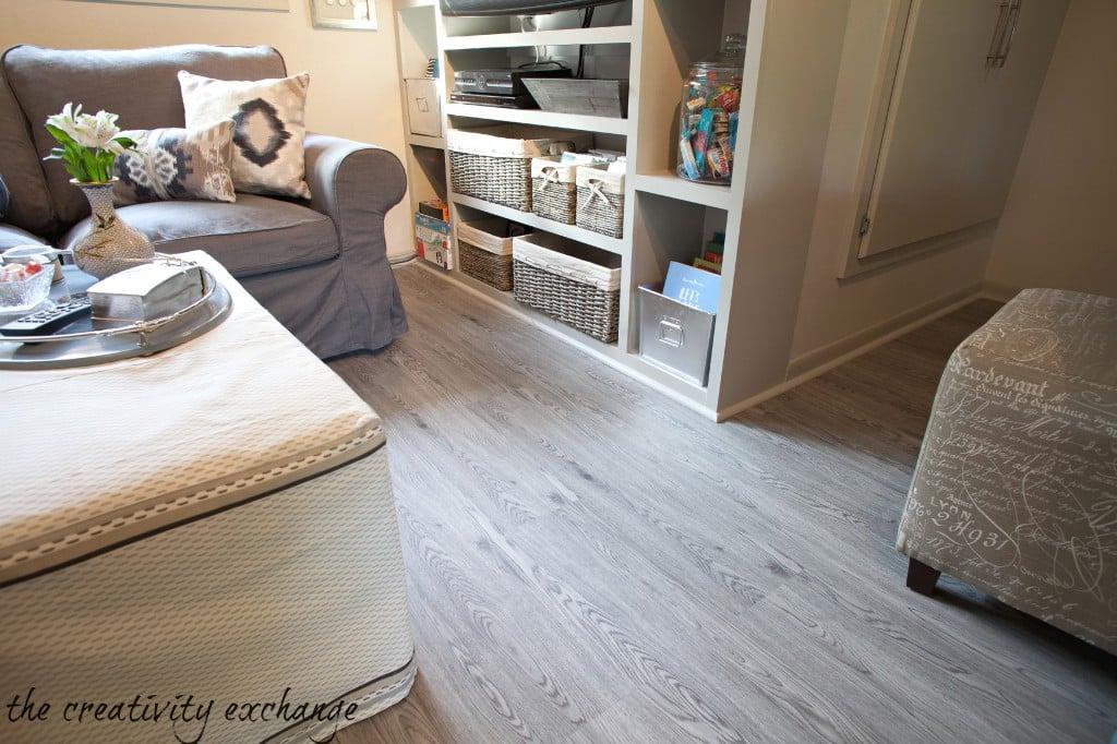 vinyl plank floors from Build Direct {The Creativity Exchange}