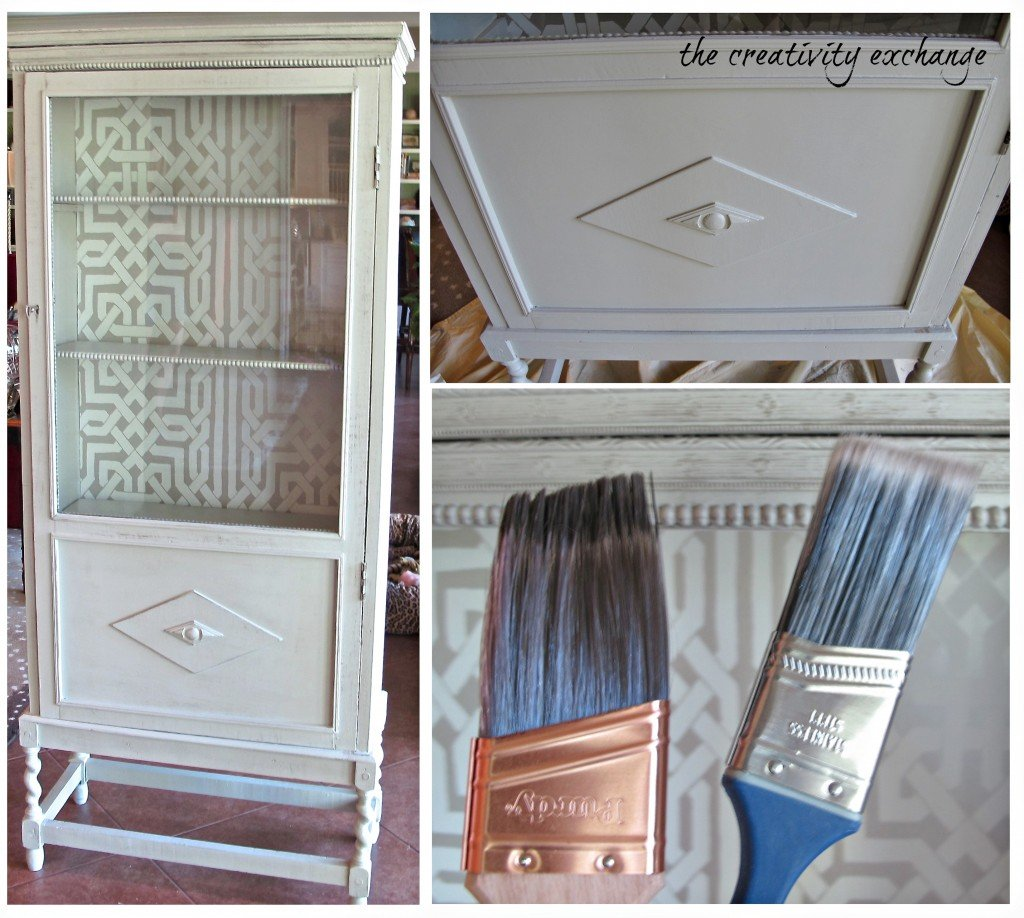 Furniture painting for beginners {The Creativity Exchange}