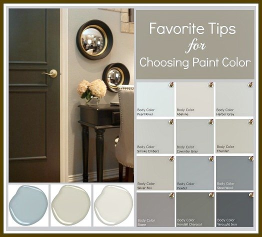 tricks for choosing paint colors by eliminating undertones and