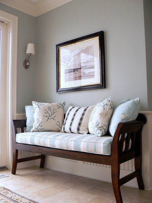 Wall Color Is Sleepy Blue From Sherwin Williams Design Studio M