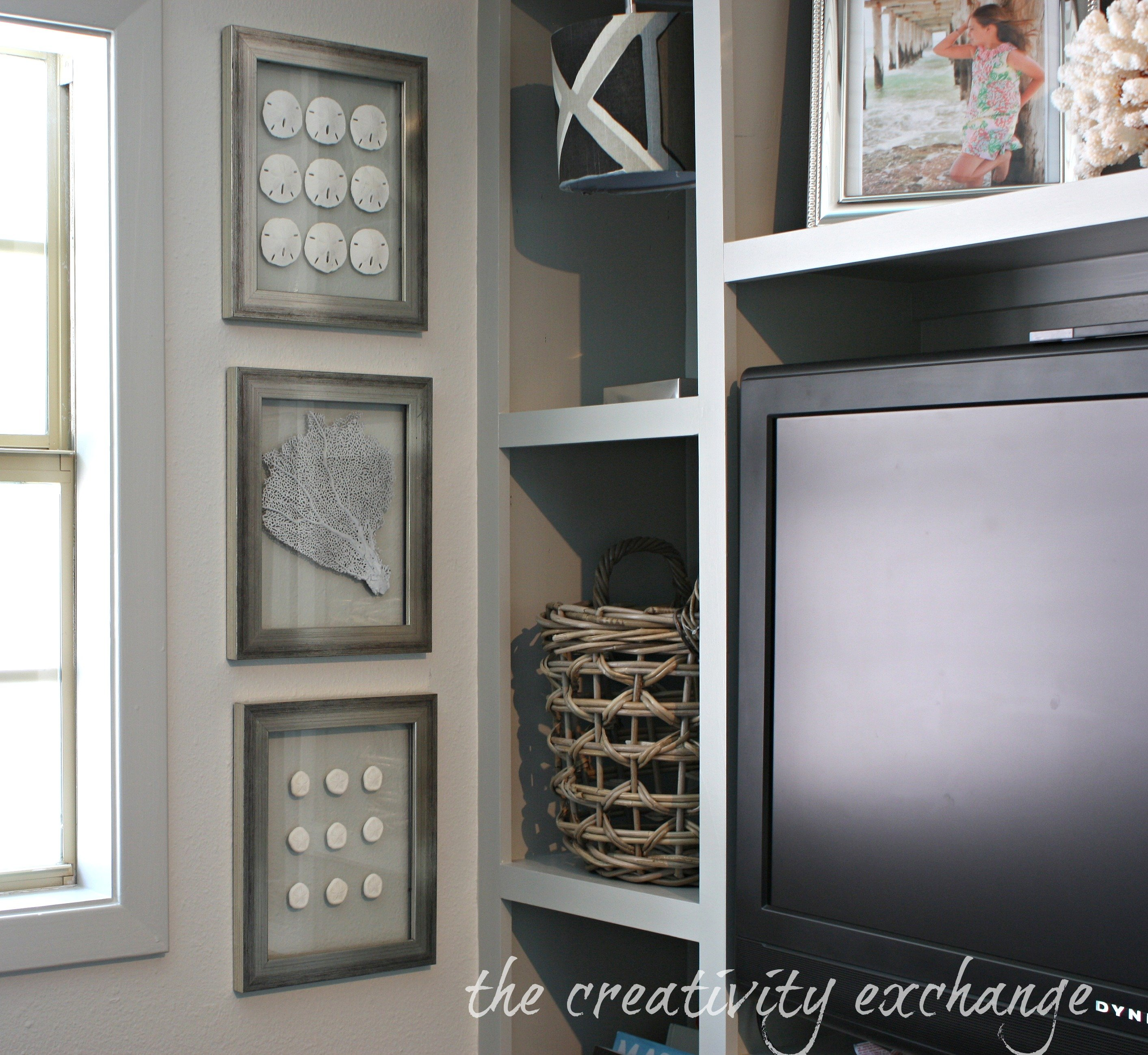 diy double sided glass frames for shell collections the creativity exchange