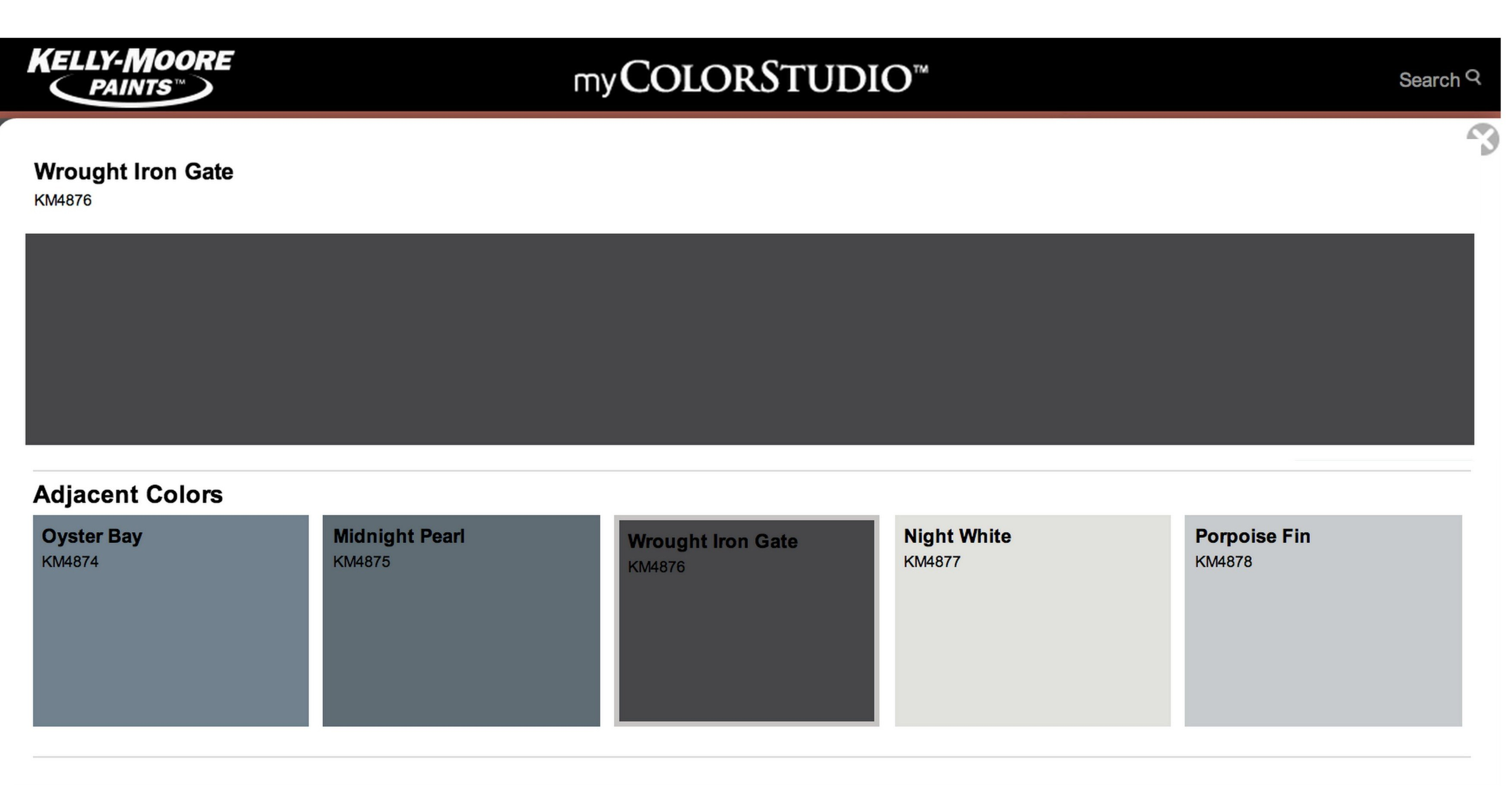 Wrought Iron Color Interview With Paint Color Stylist Mary Lawlor From Kelly Moore