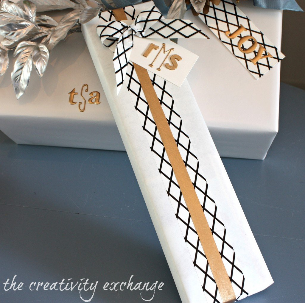Favorite Creative Gift Wrap Tricks {The Creativity Exchange}