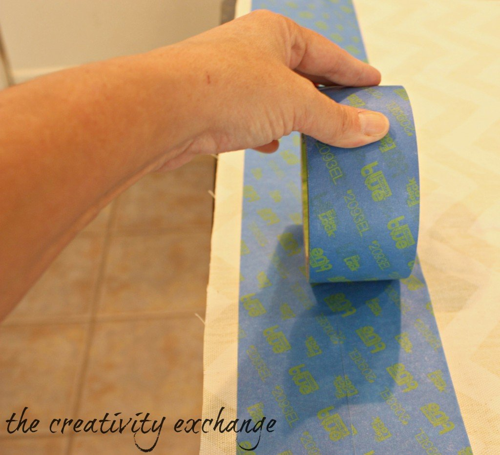 How to turn scrap fabric into bows and ribbons with Scotch Blue Tape (No-Sew) The Creativity Exchange