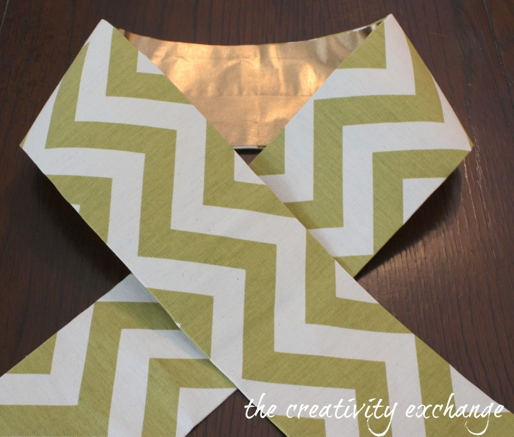 How to turn scrap fabric into pretty ribbon and bows with Blue Tape in minutes {No-Sew} The Creativity Exchange