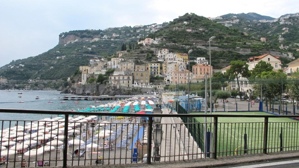 Maiori, Italy on the Amalfi Coast