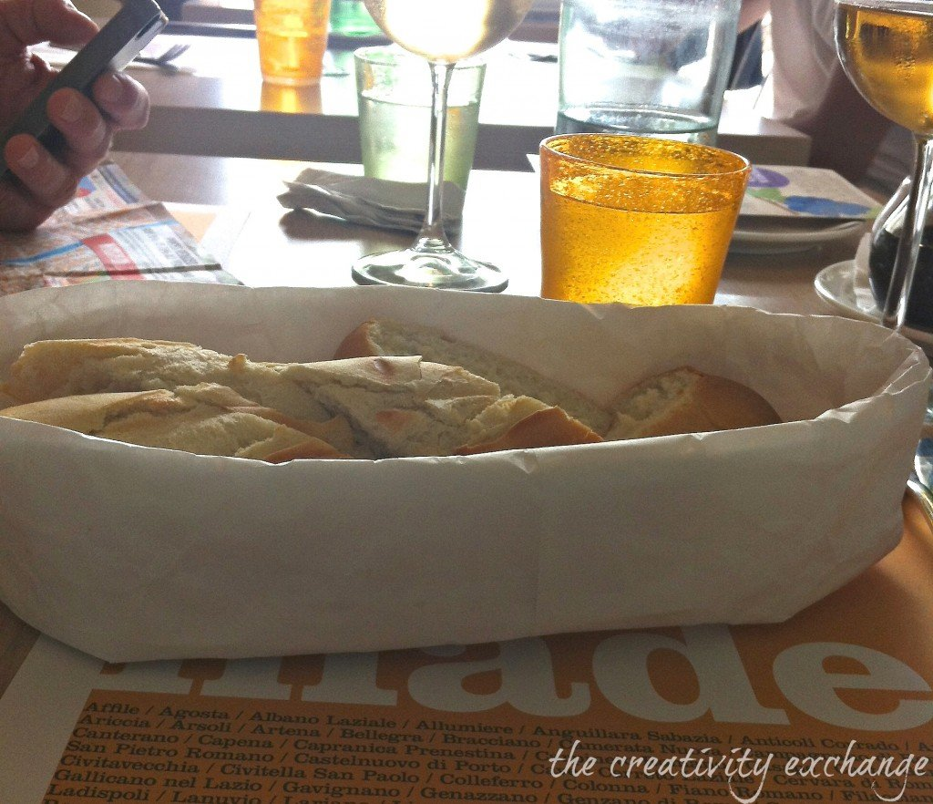 Turn a bag into an Italian bread boat:bowl (The Creativity Exchange)