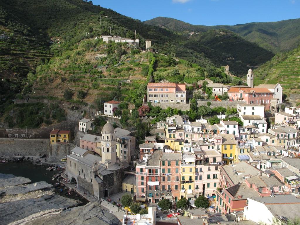 Vernazza, Italy on Cinque Terre