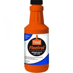 Floetrol is an additive that you pour into paint that eliminates brush marks {The Creativity Exchange}