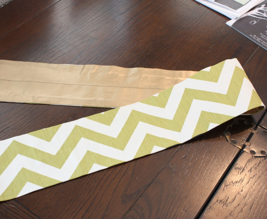 how to turn scrap fabric into pretty ribbons and bows with Blue Tape (No Sew) The Creativity Exchange