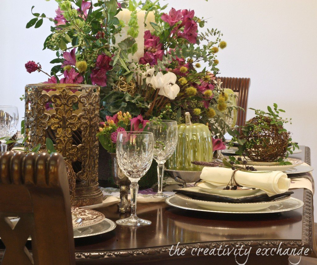Turn a Garden Box Planter into a Beautiful Holiday Table Arrangement.