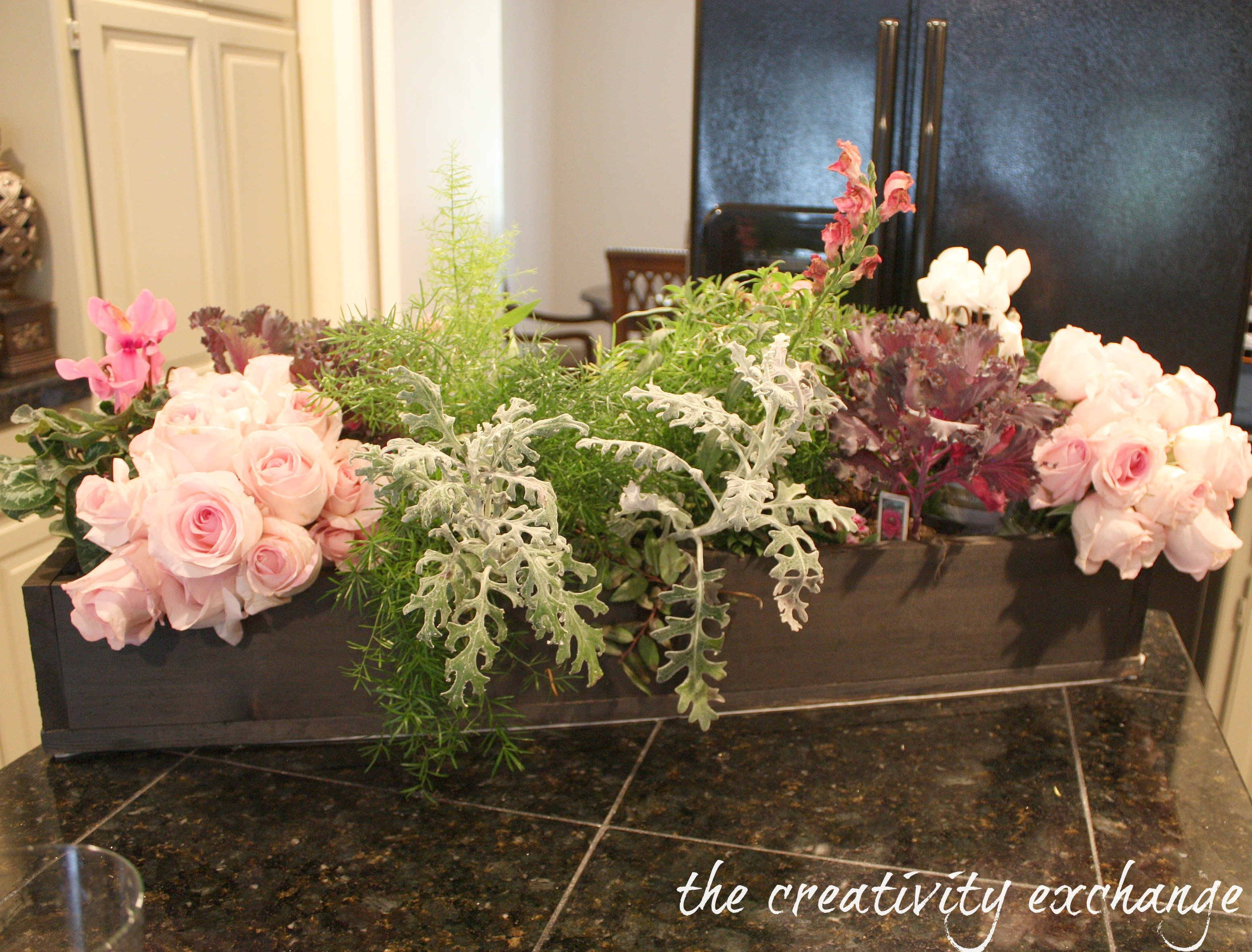 Turn A Garden Box Planter Into A Beautiful Holiday Table