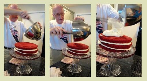 The most amazing red velvet cake! The Creativity Exchange