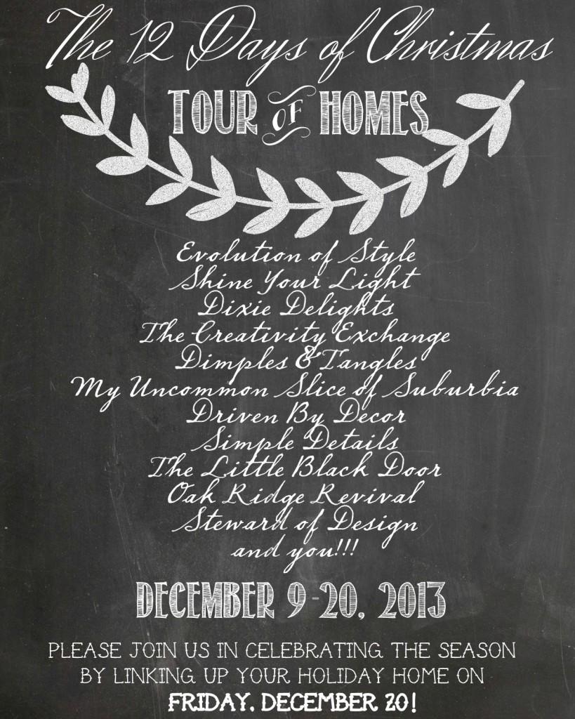 Blogger Tour Announcement